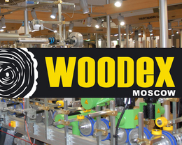 logo Woodex Moscow